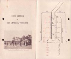 JAPAN - BOOKLET ON 'DUCK NETTING' 1928 - Unclassified