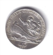 Città Del Vaticano Pio XI° 1929-1938 5 Lire 1934 D.1466 - Vatican