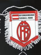 Autres Collections - Sport - Club De Football - Fanion - österreichischer Fussball Bund - Autriche - Habillement, Souvenirs & Autres