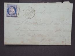 FRANCE-Lettre (avec Texte) De Elbeuf Pour Rouen En 1851   Aff Type Ceres ( N° 4)   à Voir  P6017 - 1849-1876: Période Classique