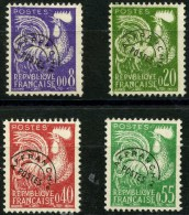 France Préos (1960) N 119 à 122 (o) - Precancels