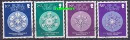 British Antarctic Territory 1986 Glaciology 4v Used (22212) - Brits Antarctisch Territorium  (BAT)