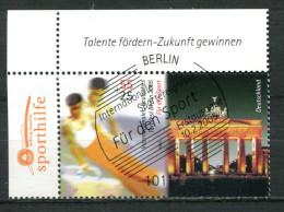 "Germany 2005  Mi. Nr.2441 "" Sporthilfe-Kunstturnen,Brandenburger Tor""1  Wert Used,gestempelt - Gebruikt"