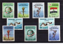 1964 - Yemen - JJOO.. De Tokyo - Mi 359-367 - MNH - Summer 1964: Tokyo