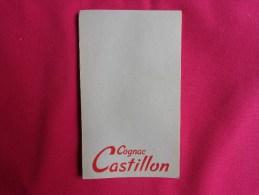 Lot De Carnets De Bloc - Cognac Castillon- Pub -8x13.5cm Environ... - Alcools