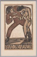 MOTIV Studentika Akad.Ing.Verein 1910-05-24 K.Kobelt Fretz - Timbres