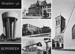 BORSBEEK - ANTWERPEN - ANVERS  - BELGIE - BELGIQUE - PEU COURANTE CPSM MUTIVUES. - Borsbeek
