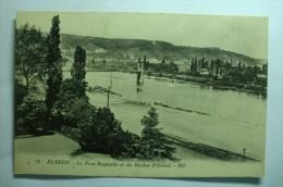 D 76 - Elbeuf - Le Pont Suspendu Et Les Roches D'orival - Elbeuf