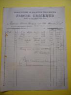 Facture Illustrée François Caillaud Montfrin Gard 191? Manufacture De Balais En Tous Genres - France