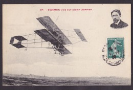 Sommer Sur Biplan Farman - Avions