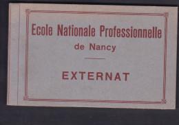 Carnet Album Ecole Professionnelle De Nancy - Externat ( P. Chavary Photo Golbey Grandrupt 11 Cartes Sur 12 ) - Nancy