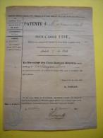 Patente D'épicerie En Détail 1881 Molières Gard à Mr Parlongue Henri - 1800 – 1899