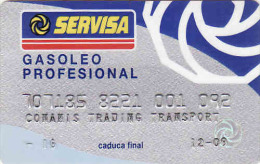 Spain Transport Servisa Card-magnetic + Carte D'essence, Gasoleo Profesional, Conamis Trading Transport - Moteurs