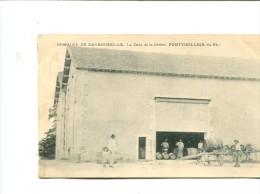 CP - PONTVIEILLE (13) DOMAINE DE DARBOUSSILLE LA CAVE ET LE CELLIER