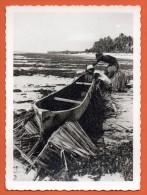 Congo Belge. Pêcheurs Sur Le Bord Du Fleuve. 1963 - Congo Belge - Autres