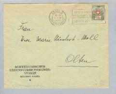 Motiv Versicherungen 1922-04-01 Portofreiheitsbr. Kl #478 - Timbres