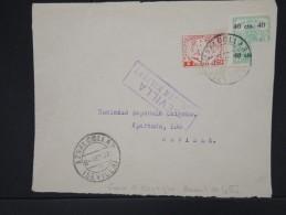 ESPAGNE-Enveloppe( Devant) De Séville Pour Séville En 1937 Aff Timbres Locaux Avec Censure De Seville  à Voir  P6059 - Marcas De Censura Nacional