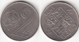CECOSLOVACCHIA 2 Korun 1991 KM#148 - Used - Cecoslovacchia