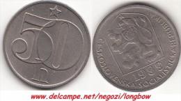 CECOSLOVACCHIA 50 Haleru 1989 KM#89 - Used - Tsjechoslowakije