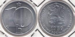 CECOSLOVACCHIA 10 Haleru 1989 KM#80 - Used - Cecoslovacchia
