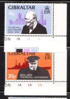 Gibraltar 1974 Sir Winston Churchill MNH - Gibraltar