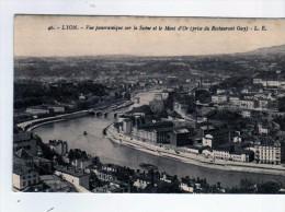 2700 Postal Francia  Lyon Vista De La Ciudad - Lyon