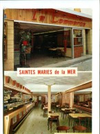 CP - SAINTES MARIES DE LA MER (13) LE COMMERCE  HOTEL BAR