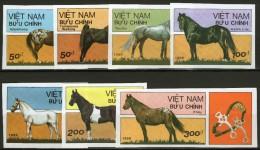 VIETNAM (rép.socialiste):  N°996/1002 NSG Non Dentelés !!!