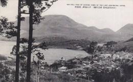 Japan - Hakone Town - Ashi-No-Ko Lake Old Postcard - Japan