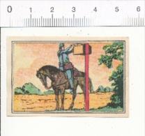 """"""" La Première Poste """" / Boite à Lettres Courrier Postal Service Moyen-âge / Chromo Vinay Histoire De France / 6-Vin/204 - Chocolat"""