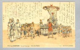 AK MOTIV Wein Reben Winzer 1903-04-02 Litho Fete Des Vignerons #12 - Folklore