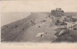 """1905    Ault - Onival """" La Plage """" - Friville Escarbotin"""