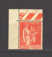 286**, Cdf, Luxe - 1932-39 Paix