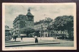 SUISSE -GENEVE - LA TOUR DE L\\´ILE - VIAGGIATA 1923 - Non Classificati