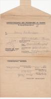 20866- WW2, WAR PRISONERS CORESPONDENCE, SENT FROM AURILLAC PRISONERS CAMP TO GELSENKIRCHEN, 1946, FRANCE - Guerre De 1939-45