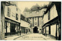 SEMUR... La Porte De Guillier Librairie A. HOSPIED - Semur