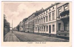 Crefeld (Krefeld) - Ecole De Marie, 1925 - Verlag J. Lankes, Südstrasse 16, Crefeld - Postes Militaires/Legerposterij - Krefeld