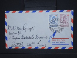 FINLANDE-Enveloppe De Helsinski Pour La France   Obl. Jeux Olympiques De 1952  Aff Plaisant à Voir  P6080 - Finland