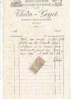 Facture De 1922 - BARATIN MERCIER, Mécanicien à Vitry Aux Loges - Petits Métiers