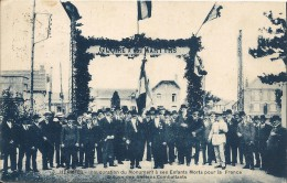 HERMIES. INAUGURATION DU MONUMENT AUX MORTS - France
