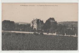 Cpa PODENSAC (33) Le Château Thevenot Et Le Parc - - Francia