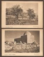 2 C.P.A - JERUSALEM -- Olives. -- Tomb Of Rachel.   - Phot.: J. Schweig. - Israel