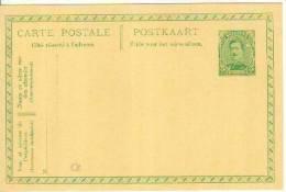 Belgique Carte Postale  N° 52 Neuve - Stamped Stationery