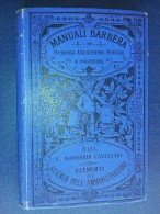 M#0G14 MANUALI BARBERA XIII Wautrain Cavagnari ELEMENTI DI SCIENZA DELL'AMMINISTRAZIONE - Diritto Ed Economia