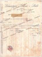 1930 - Zelini SALO´ - Fabbrica Dolci Cioccolato Biscotti - Lago Di Garda - Erinnofilia Centesimi 50 - Benaco - Italia