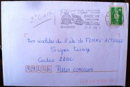 FRANCE 2eme Guerre Mondiale, Flamme Temporaire LANDRETHUN Le Nord BASE V3 Forteresse De Mimoyecques. A Marquise 1996 - 2. Weltkrieg