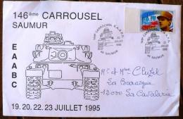 FRANCE 2eme Guerre Mondiale, Flamme Temporaire  146 Eme Carrousel SAUMUR 19 Au 23 Juillet 1995 - 2. Weltkrieg