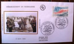 FRANCE 2eme Guerre Mondiale, Hommage Aux Libérateurs 1944 1994. Yvert N°2887 FDC 50 Eme Anniversaire Liberation - 2. Weltkrieg