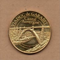 Monnaie Arthus Bertrand : Viaduc De Garabit -  2010 - Arthus Bertrand
