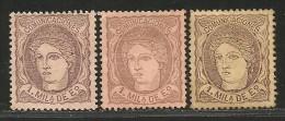 España 102 (*) - 1868-70 Gobierno Provisional